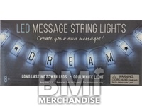 DIY MESSAGE STRING LIGHTS