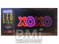LED XOXO SIGN