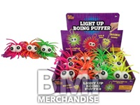 3IN LIGHT UP BOING PUFFER BALL