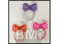 LIGHT UP BOWS - ASST COLORS