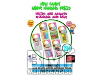 $.23 CANDY MINOR HANGING PRIZE KIT - 288 PCS