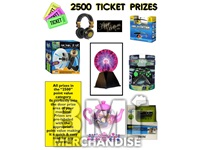2500 TICKET TO PRIZE KIT - BOY & GIRL PRIZES - 2 PC