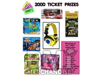 2000 TICKET TO PRIZE KIT - BOY & GIRL PRIZES - 3 PC