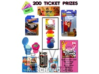 200 TICKET TO PRIZE KIT - BOY & GIRL PRIZES - 60 PC