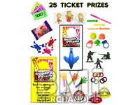 25 TICKET TO PRIZE KIT - BOY & GIRL PRIZES - 288 PC