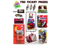 750 TICKET TO PRIZE KIT - BOY & GIRL PRIZES - 20 PC