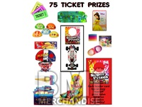 75 TICKET TO PRIZE KIT - BOY & GIRL PRIZES - 120 PC