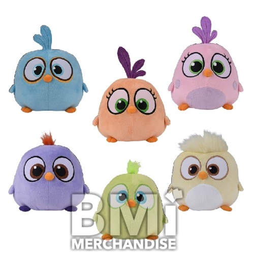 8INCH ANGRY BIRDS HATCHLING PLUSH ASST