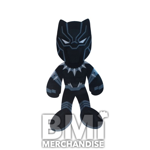144PC 20% 9 INCH LICENSED BLACK PANTHER PLUSH CRANE KIT