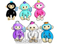 10INCH POSABLE FINGERLINGS PLUSH