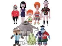 144PC MIX PLUSH 20% HOTEL TRANSYLVANIA 3  CRANE KIT