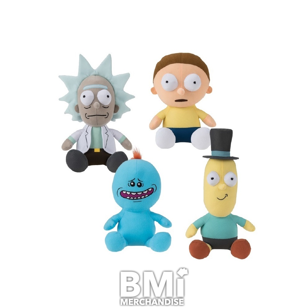 """10/"""" Rick and Morty Plush Stuffed Morty Doll Toy"""