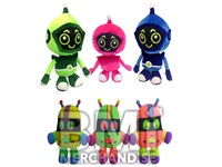 JUMBO 22IN ROBOT PLUSH ASSORTMENT