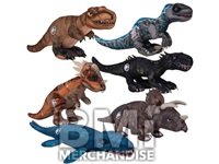 72PC 100% LICENSED 7INCH JURASSIC WORLD PLUSH ASSORTMENT