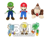 8IN MARIO BROS PLUSH ASST.