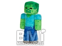 MINECRAFT JUMBO ZOMBIE 12IN PLUSH