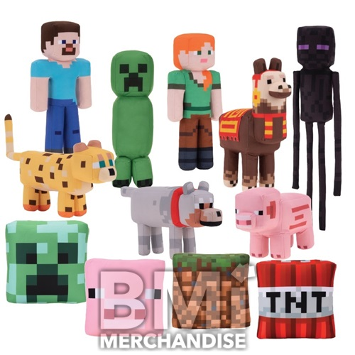 11-13PC MINECRAFT PLUSH ASSORTMENT