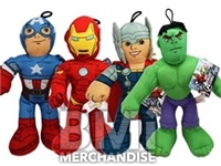 9INCH MARVEL UNIVERSE PLUSH