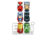 4 INCH MARVEL STACKABLE TIKI ASST
