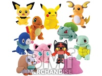8-12 INCH POKEMON PLUSH ASST ** FOR REDEMPTION ONLY **