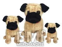 21INCH PACE THE PUG PLUSH ASSORTMENT