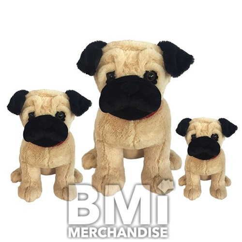 10.5INCH PACE THE PUG PLUSH