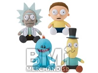 7-9IN RICK & MORTY PLUSH ASSORTMENT