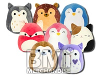 24PC 12INCH SQUISHMALLOW PLUSH CRANE KIT