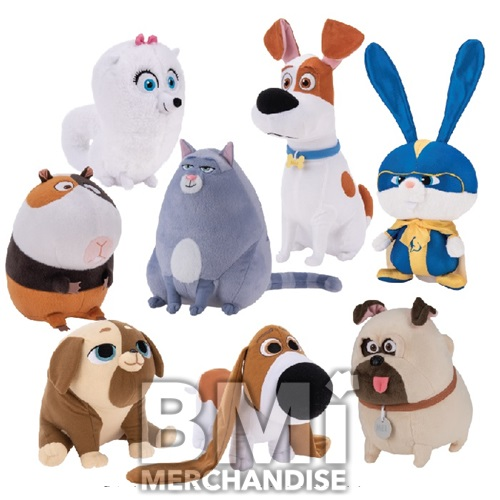 10-12INCH SECRET LIFE OF PETS 2 PLUSH