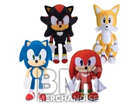 72 PC 100% LICENSED 8 INCH SONIC PLUSH CRANE KIT