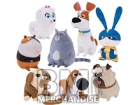 72PC 100% LICENSED 6-8INCH SECRET LIFE OF PETS CRANE KIT