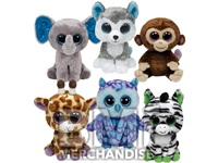 12PC JUMBO 18INCH TY BEANIE BOO PLUSH CRANE KIT