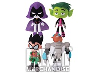 144PC 20% LICENSED 9-11INCH TEEN TITANS GO! PLUSH CRANE KIT