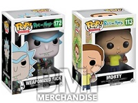 RICK AND MORTY POP VINYL FIGURE