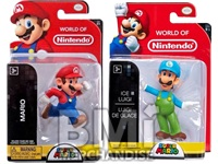 NINTENDO 2.5INCH MARIO FIGURES ASSORTED