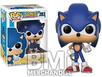 SONIC POP VINYL FIGURE - STRAPPED