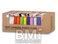10PC HANGING PHOTO CLIPS