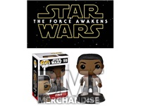 STAR WARS EP7 FINN POP BOBBLEHEAD - STRAPPED