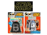 STAR WARS  MINI MOLDED STATIONERY SET