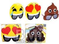 EMOTICON SUNGLASSES ASSORTMENT