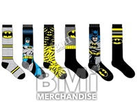 BATMAN KNEE HIGH SOCKS ASSORTMENT