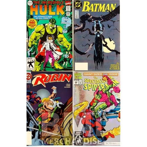 SUPERHERO COMICS 4PACK