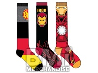 IRON MAN SOCKS ASST