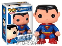 SUPERMAN POP VINYL FIGURE - STRAPPED