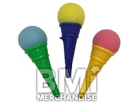 6IN COLORED ICE CREAM CONE SHOOTER