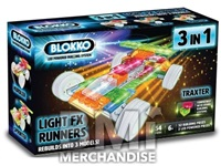 BLOKKO 3 IN 1 LIGHT UP VEHICLE