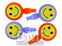 2.25INCH SMILEY CLACKER RING
