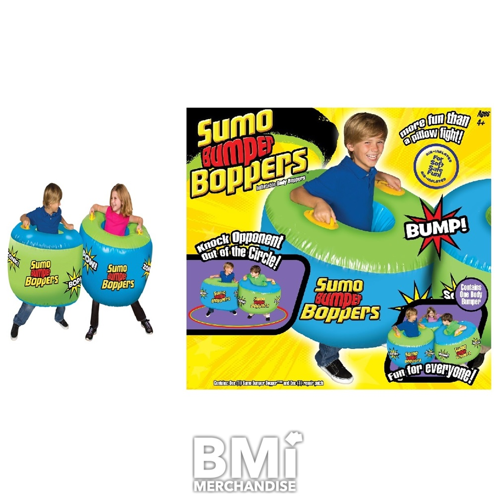 Socker Boppers Sumo: INFLATABLE SUMO BUMPER BOPPERS