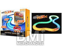 MAX FLEX RC GLOW IN THE DARK FLEXIBLE TRACK SYSTEM