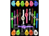 COLORFUL RUBBER BAND WATCH ASSORTMENT